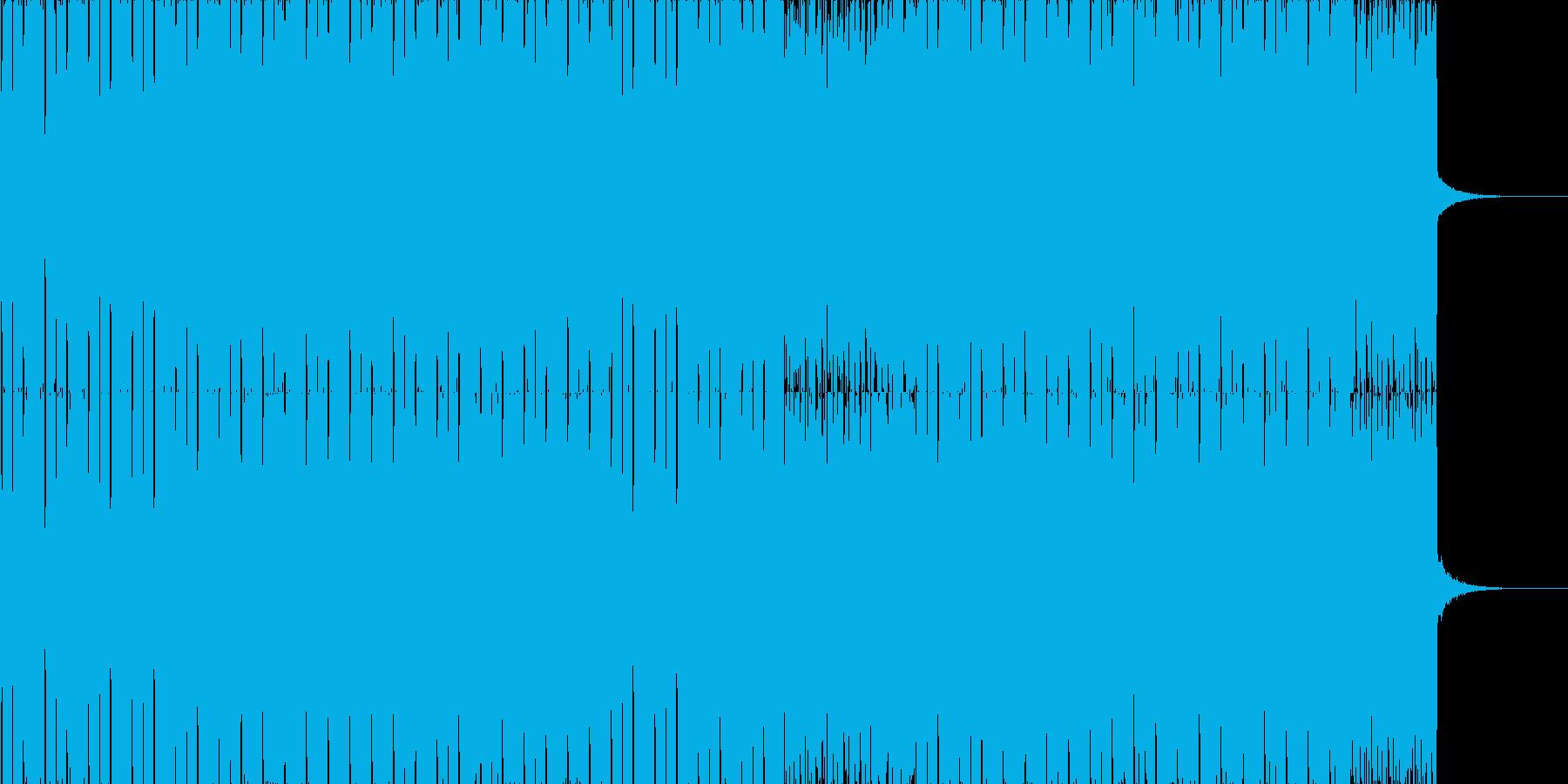 疾走感のあるシンプルなドラムンベース2の再生済みの波形