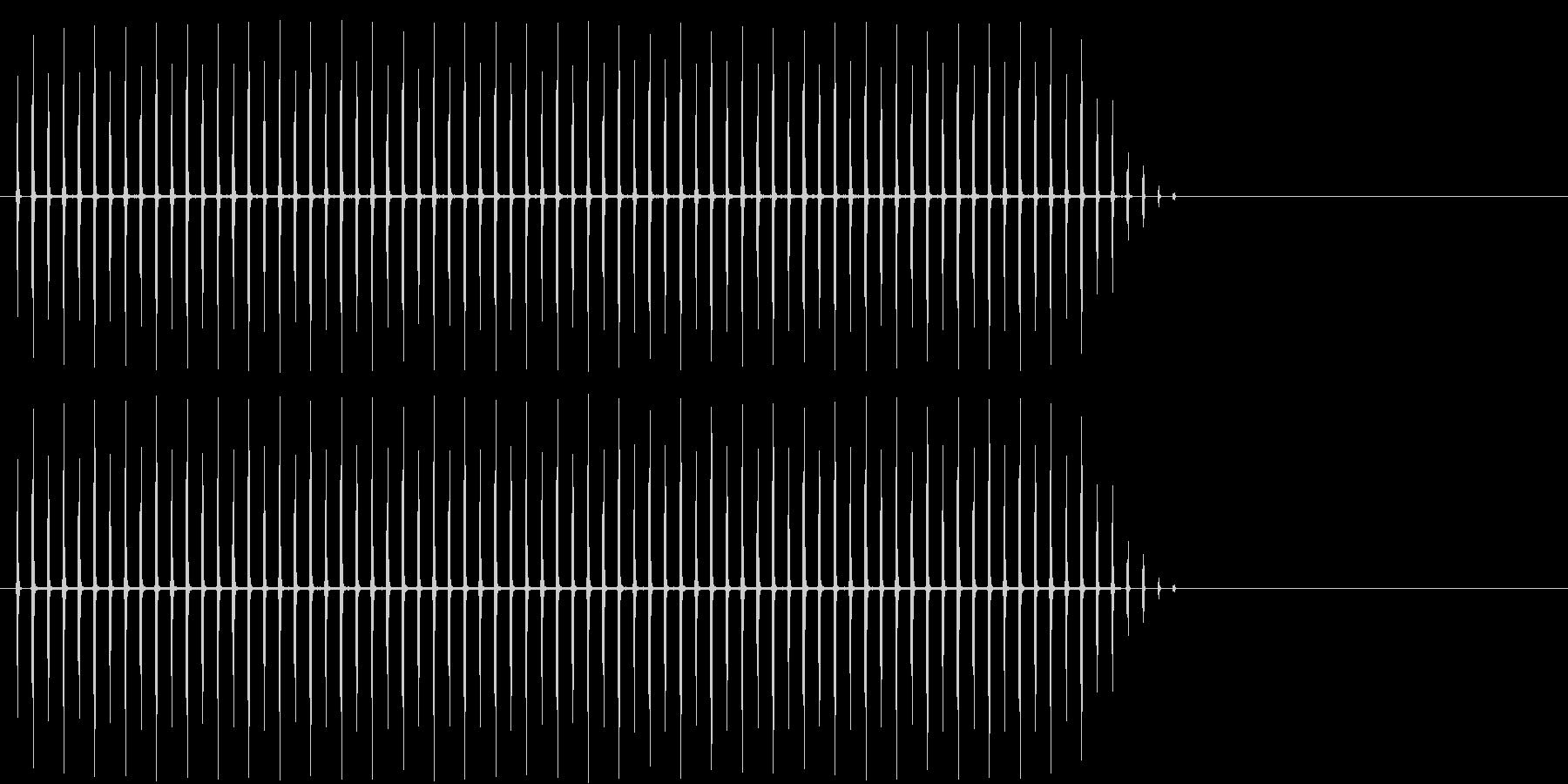 場面 時計 タイマーの未再生の波形