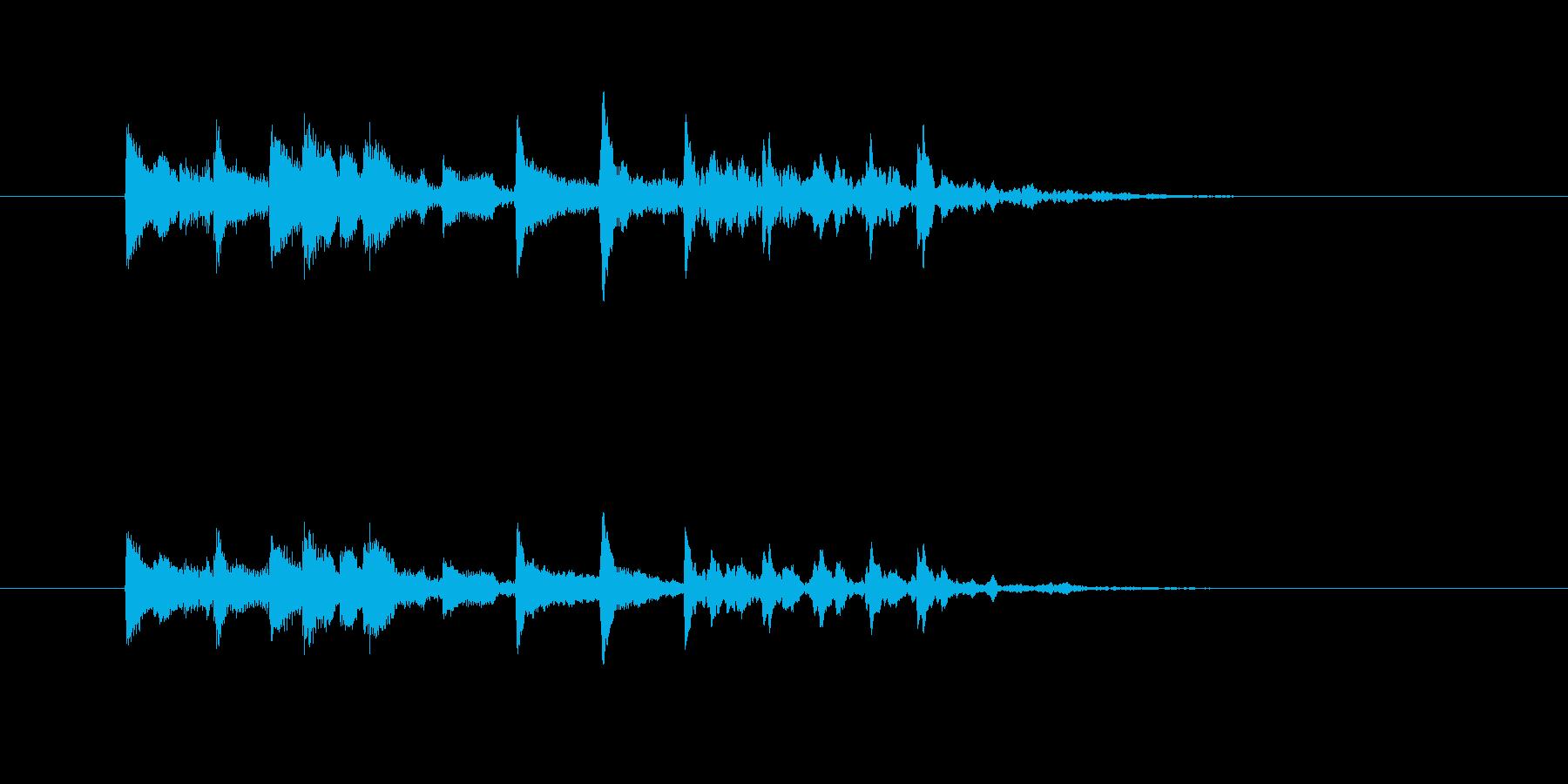 チャラララタンタン(弦楽器、場面転換)の再生済みの波形