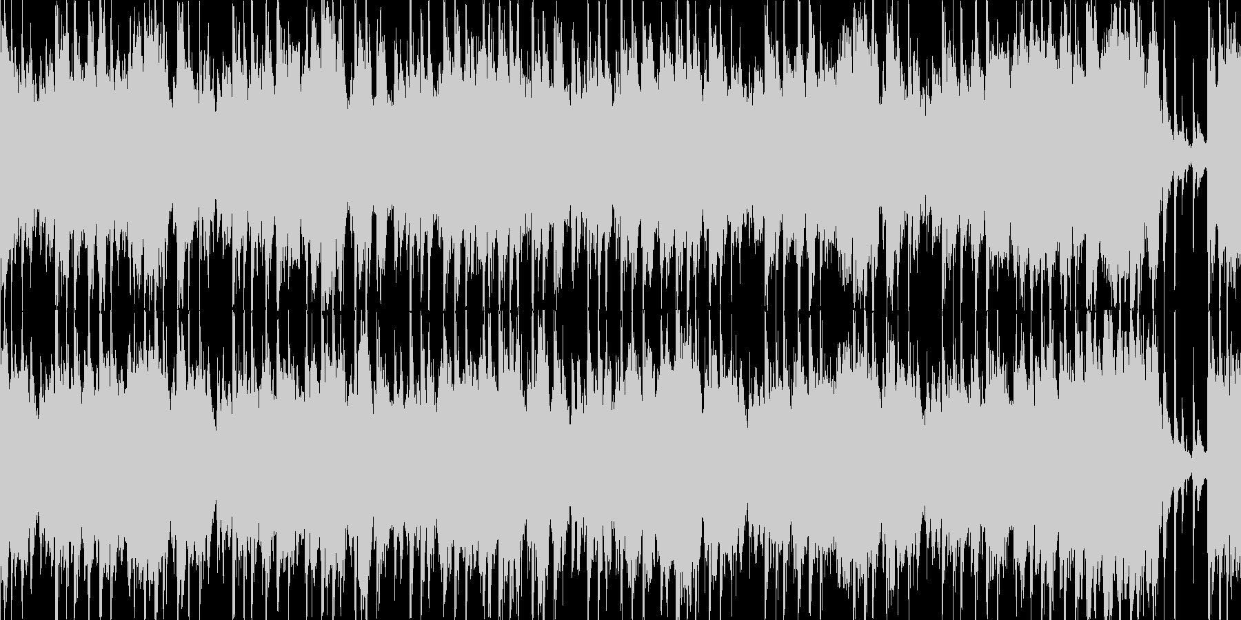 【ループ】明るい、ほのぼのした日常テーマの未再生の波形