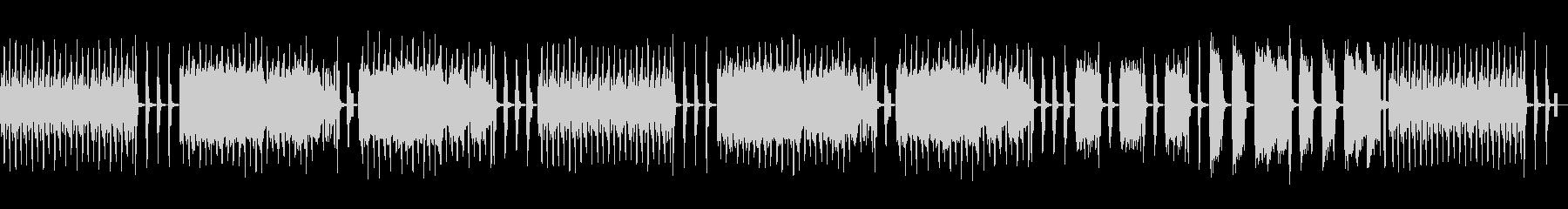 フランスの歌謡曲をイメージして作りましたの未再生の波形