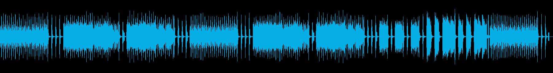 フランスの歌謡曲をイメージして作りましたの再生済みの波形