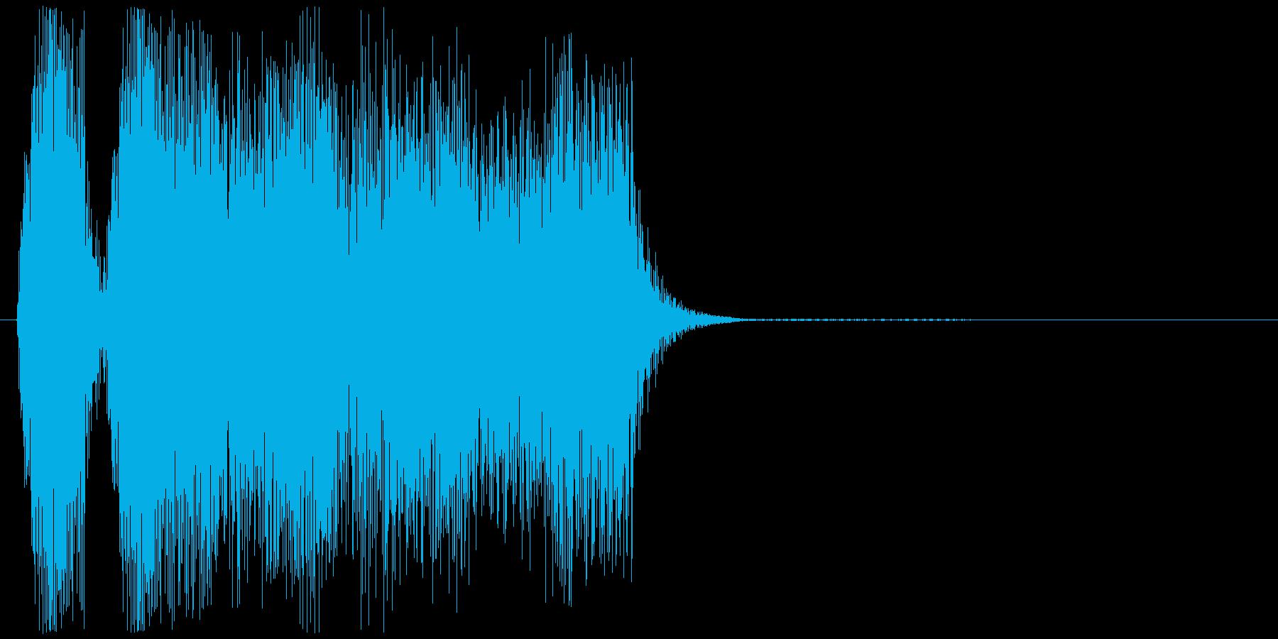 パッパー(クラクション、車)の再生済みの波形