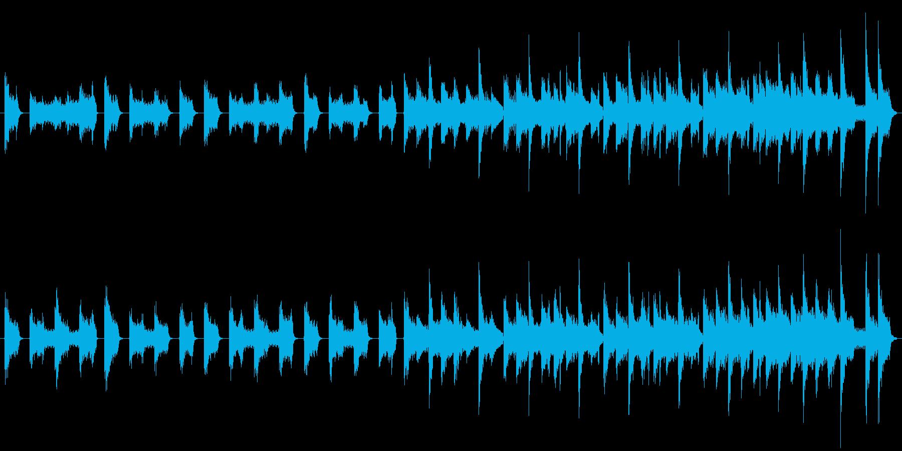 クイズ用シンキングタイムテクノCMの再生済みの波形