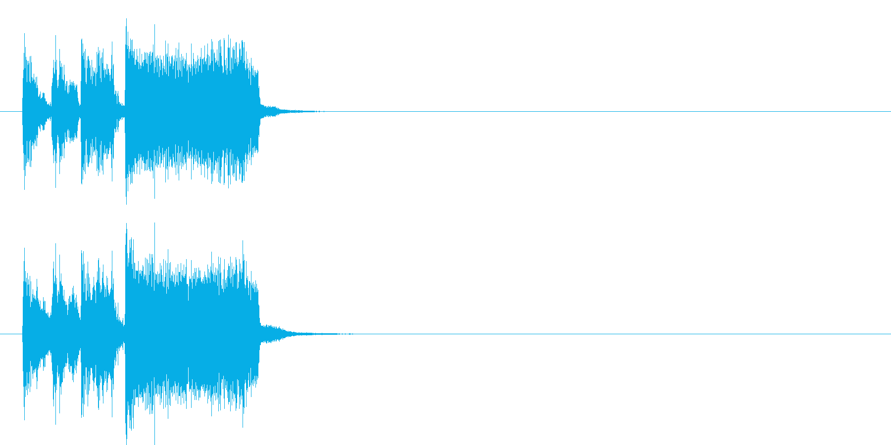躍動 アタック クイズ 大人の再生済みの波形