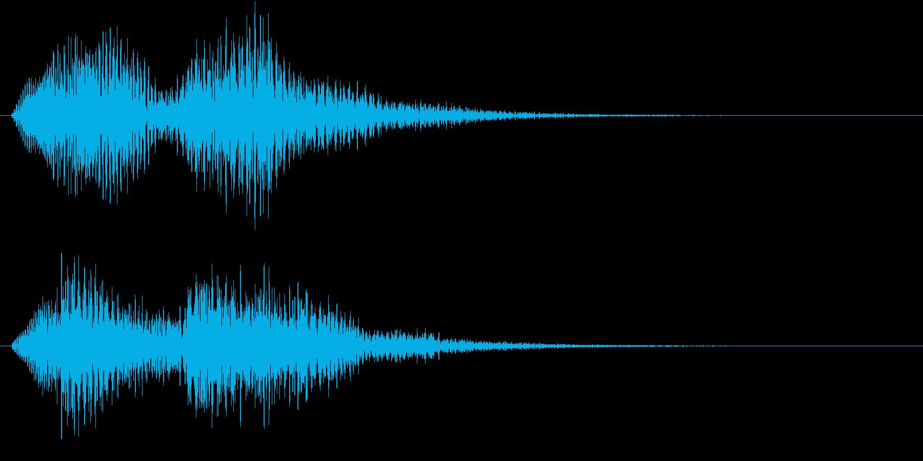 フワーン、フワー(サウンドロゴ、ゲーム)の再生済みの波形