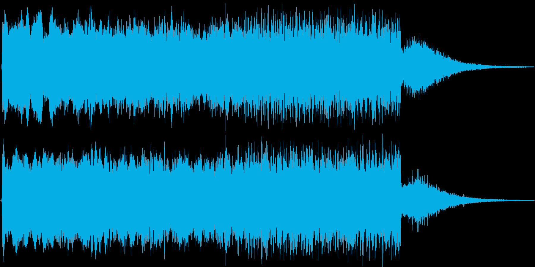 アイテム獲得・レベルアップ・クイズの正解の再生済みの波形