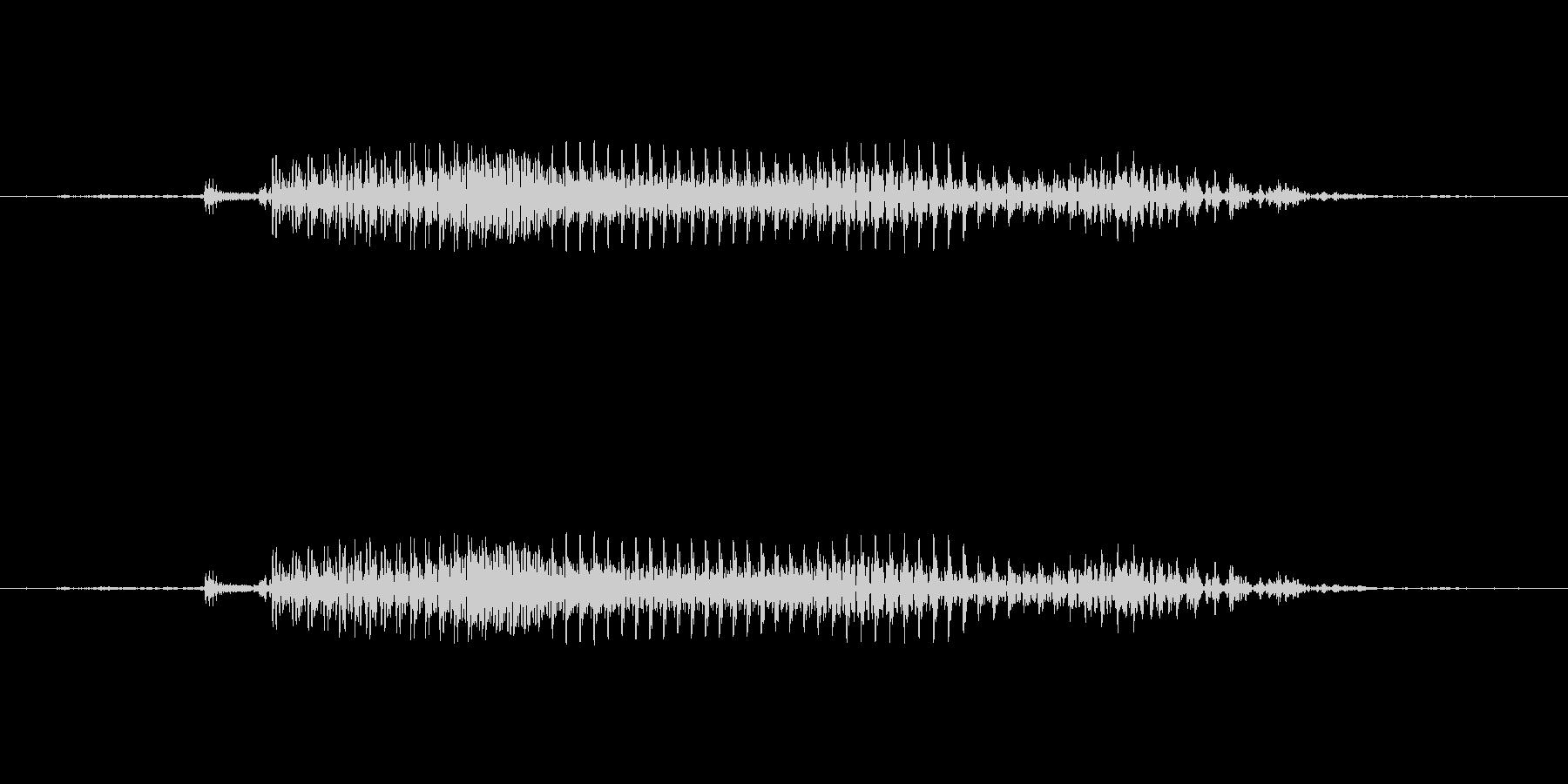5 (ごぉ)の未再生の波形