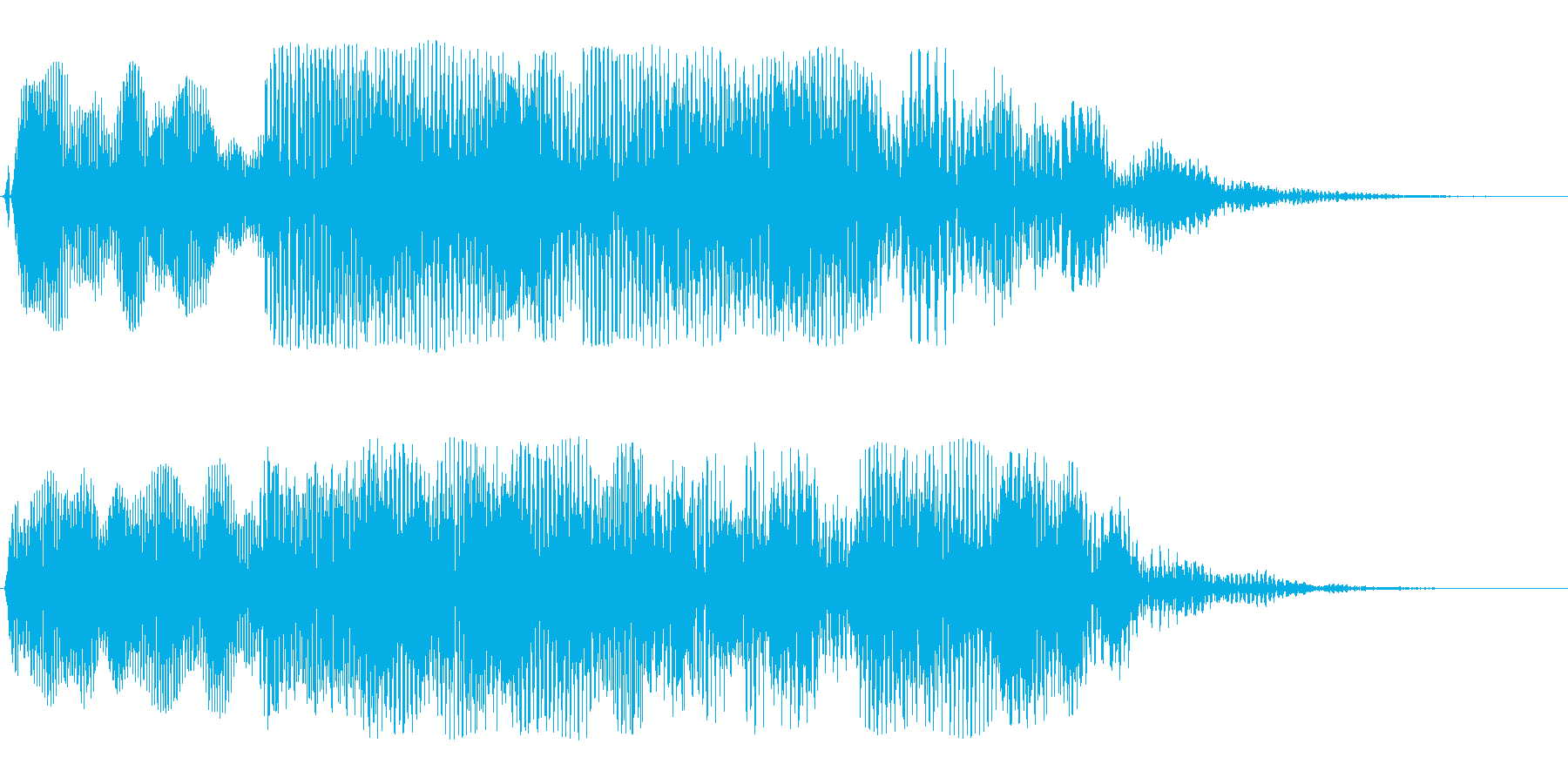 巨大惑星(重々しい)の再生済みの波形