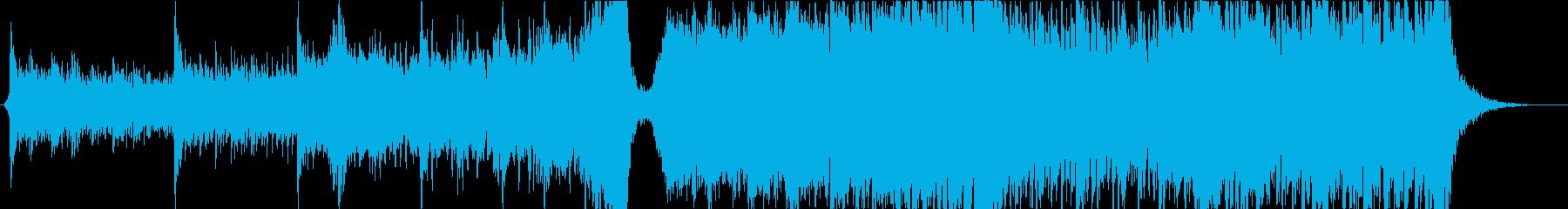 ポジティブ/上昇/Epic/オーケストラの再生済みの波形