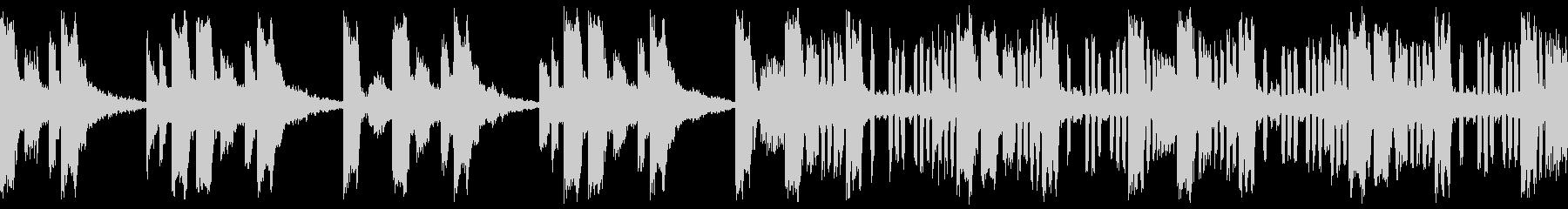 マップ画面・マフィアのビル・ループシンセの未再生の波形