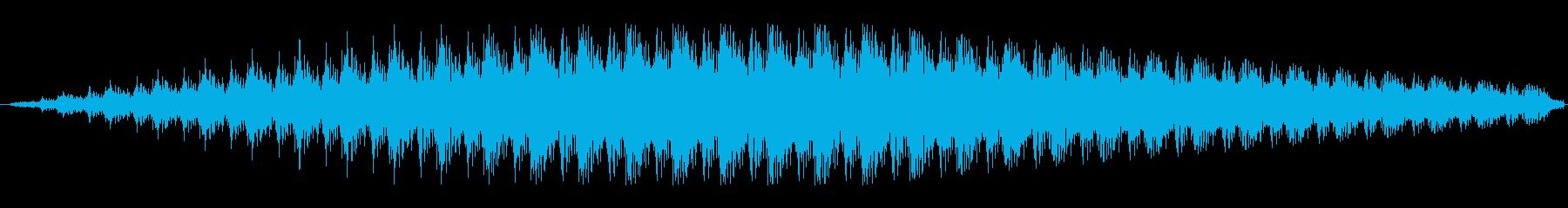 ファンファンファンの再生済みの波形