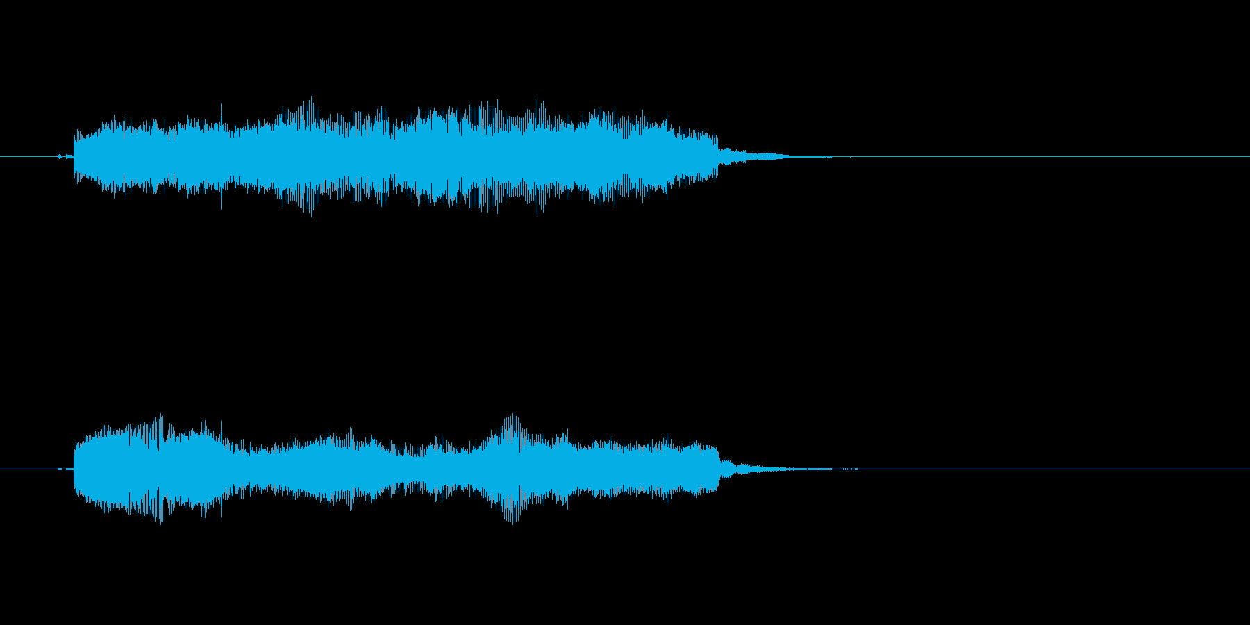 神秘的 怪しい ストリングス 落ち着きの再生済みの波形