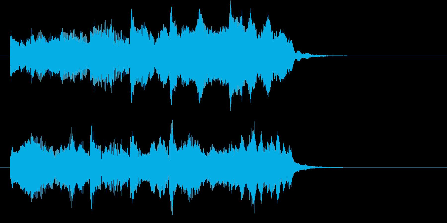 発車メロディ、ジングル、ロゴに使えるの再生済みの波形