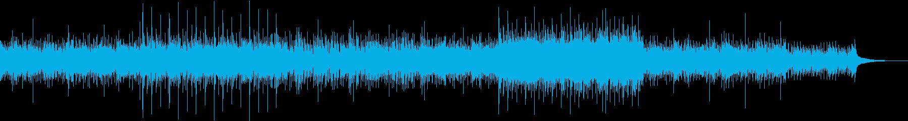3拍子・NewAge・ワールド・スローの再生済みの波形