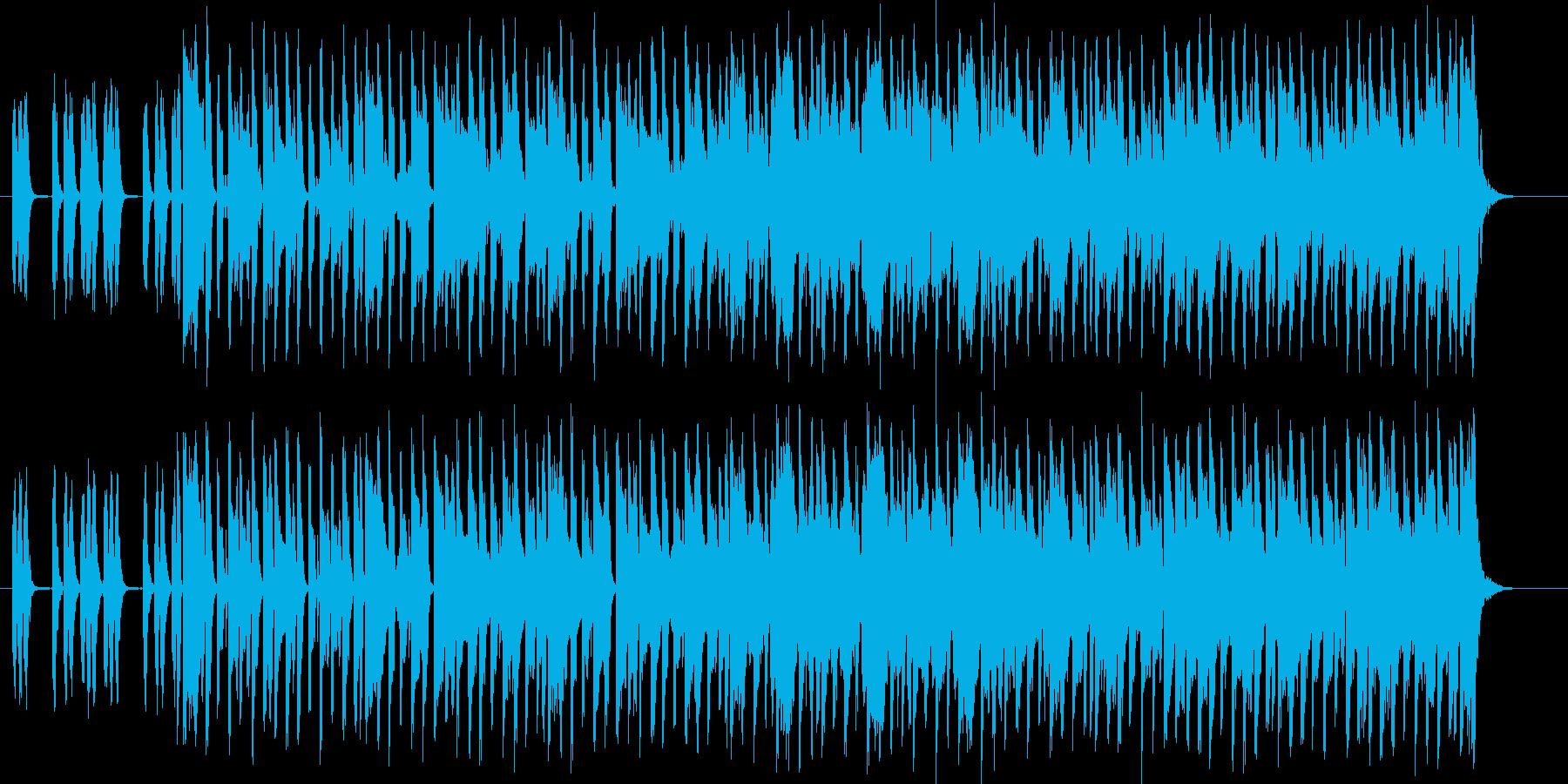 木琴が印象的なミディアムテンポのポップスの再生済みの波形