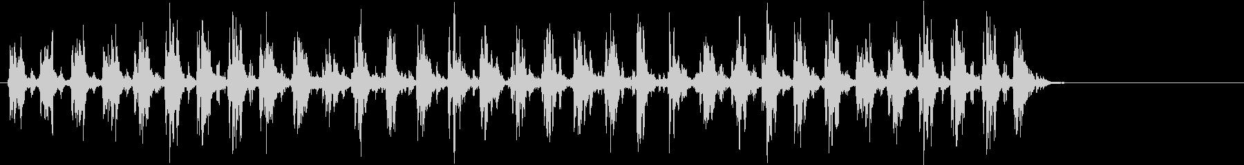 Xmasに最適トナカイベルのループ音05の未再生の波形