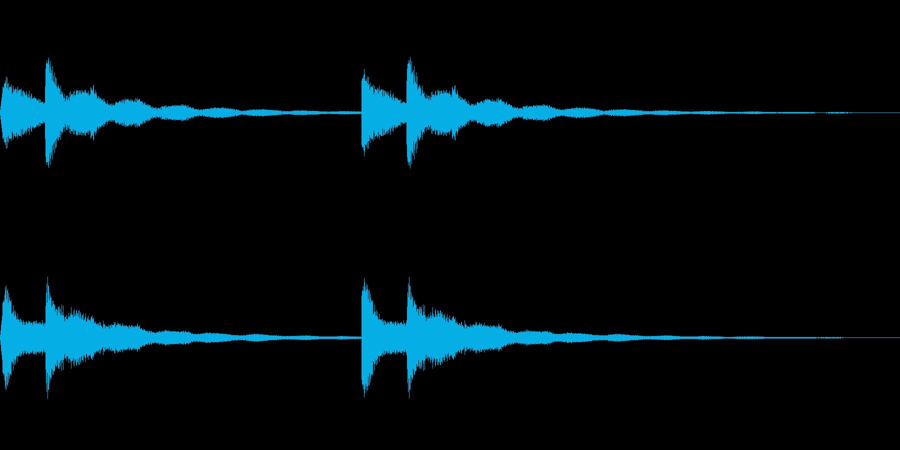 高級マンションのピンポン~少し早め~の再生済みの波形