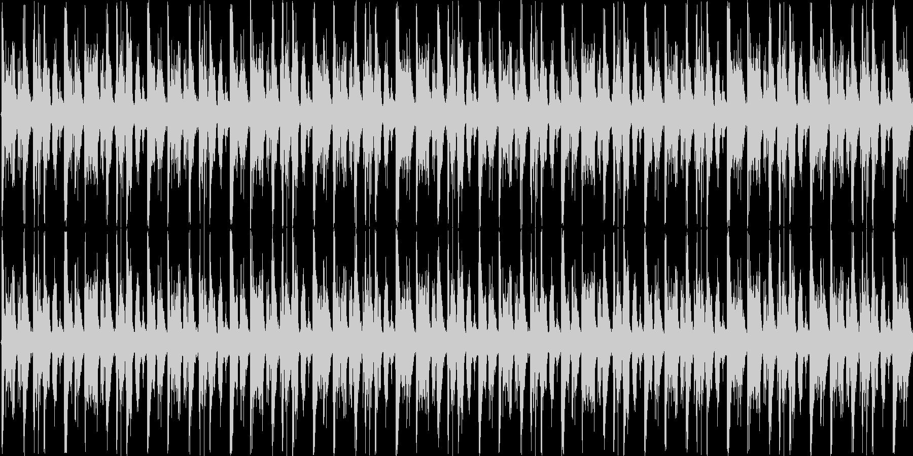 ハイテンポで次々物事が展開する-ループ可の未再生の波形