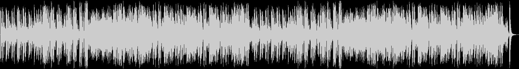 オーケストラの明るい序曲の未再生の波形