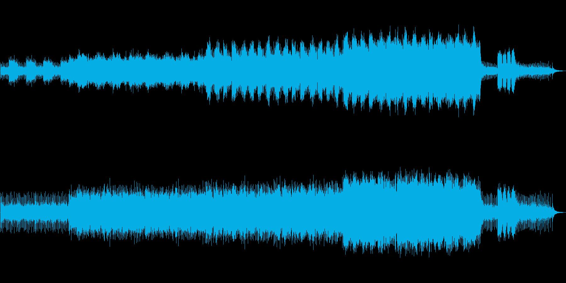 ファンタジーRPG等に合いそうな幻想的…の再生済みの波形