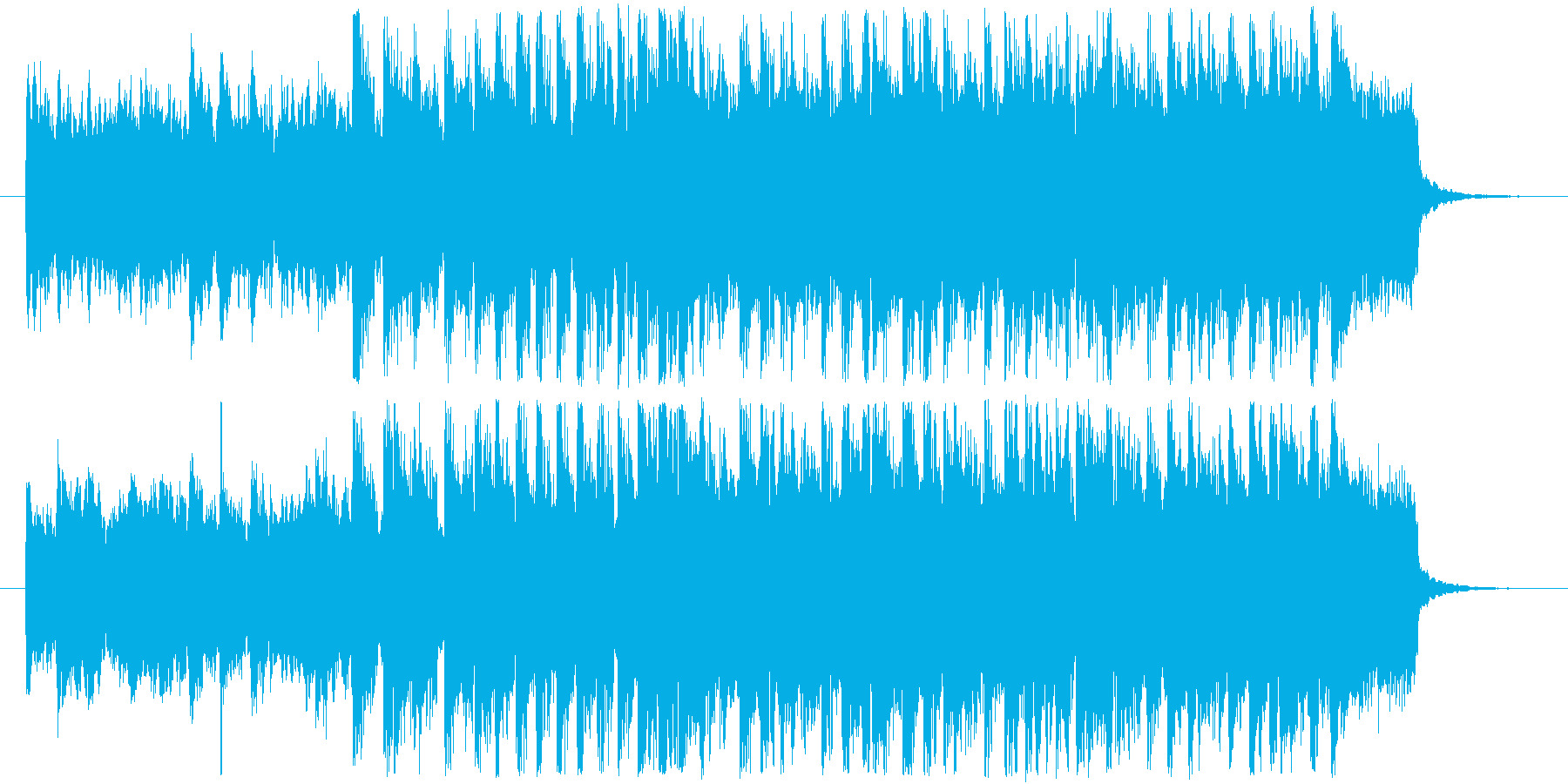 情景的かつ躍動的なキラキラ爽快BGM!の再生済みの波形