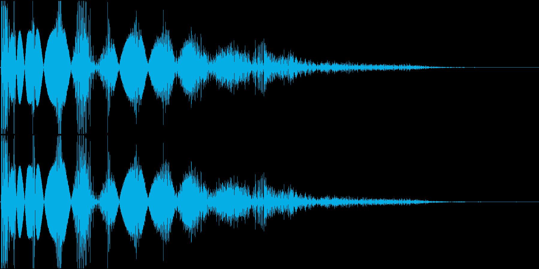 KAKUGE 格闘ゲーム戦闘音 30の再生済みの波形