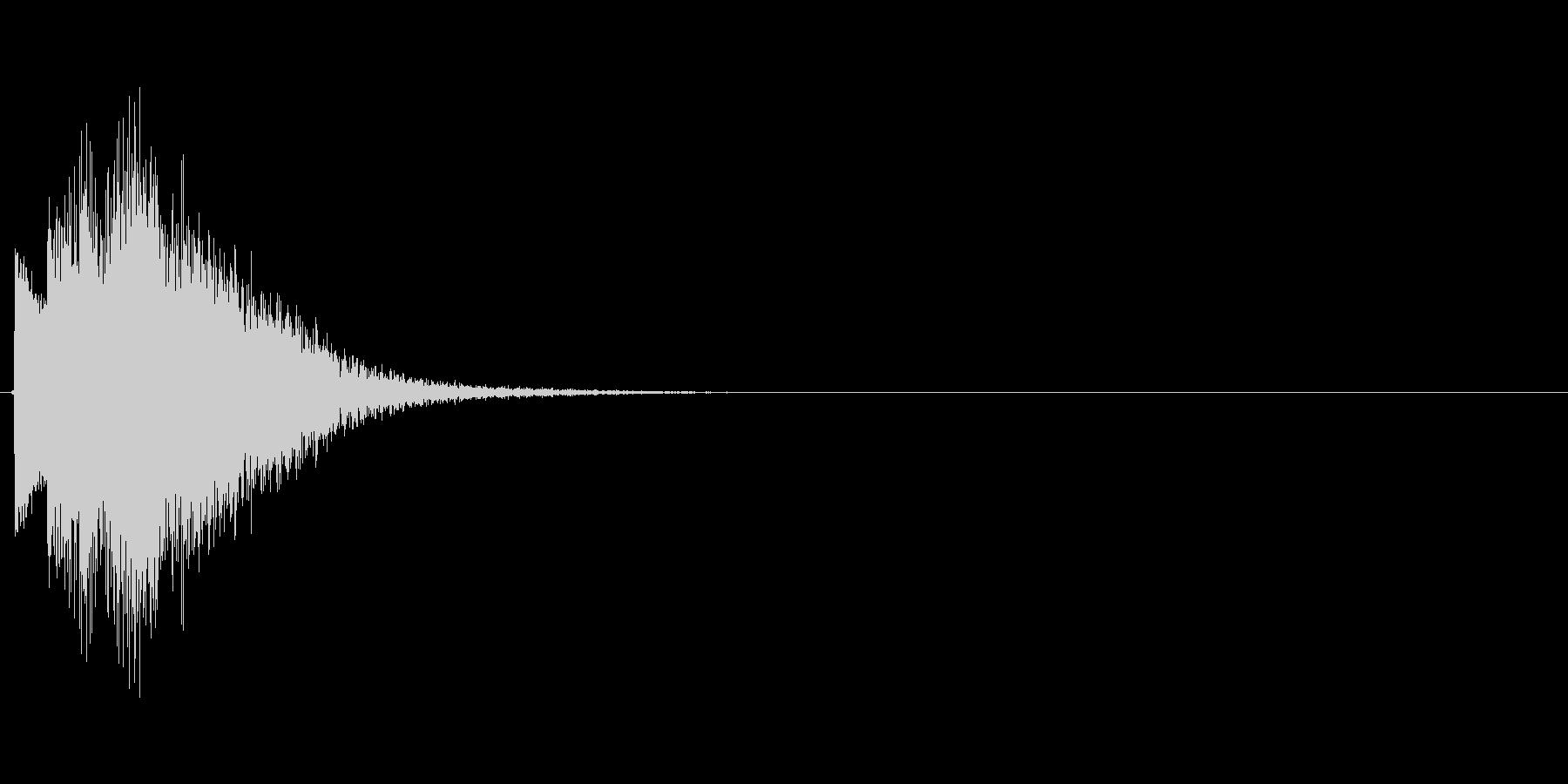 キラキラ↓(星、場面転換、転がる)の未再生の波形