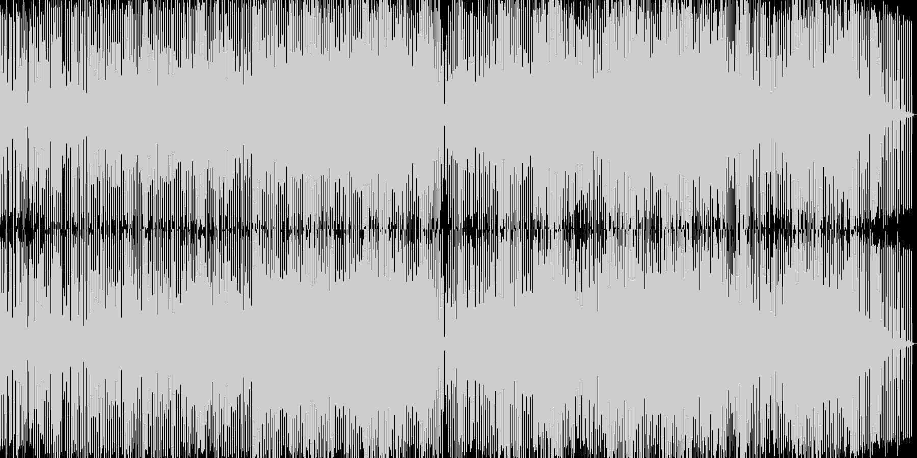 ゆったり目なミニマルハウスの未再生の波形