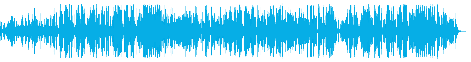 クラシック曲をリゾートパーティーアレンジの再生済みの波形