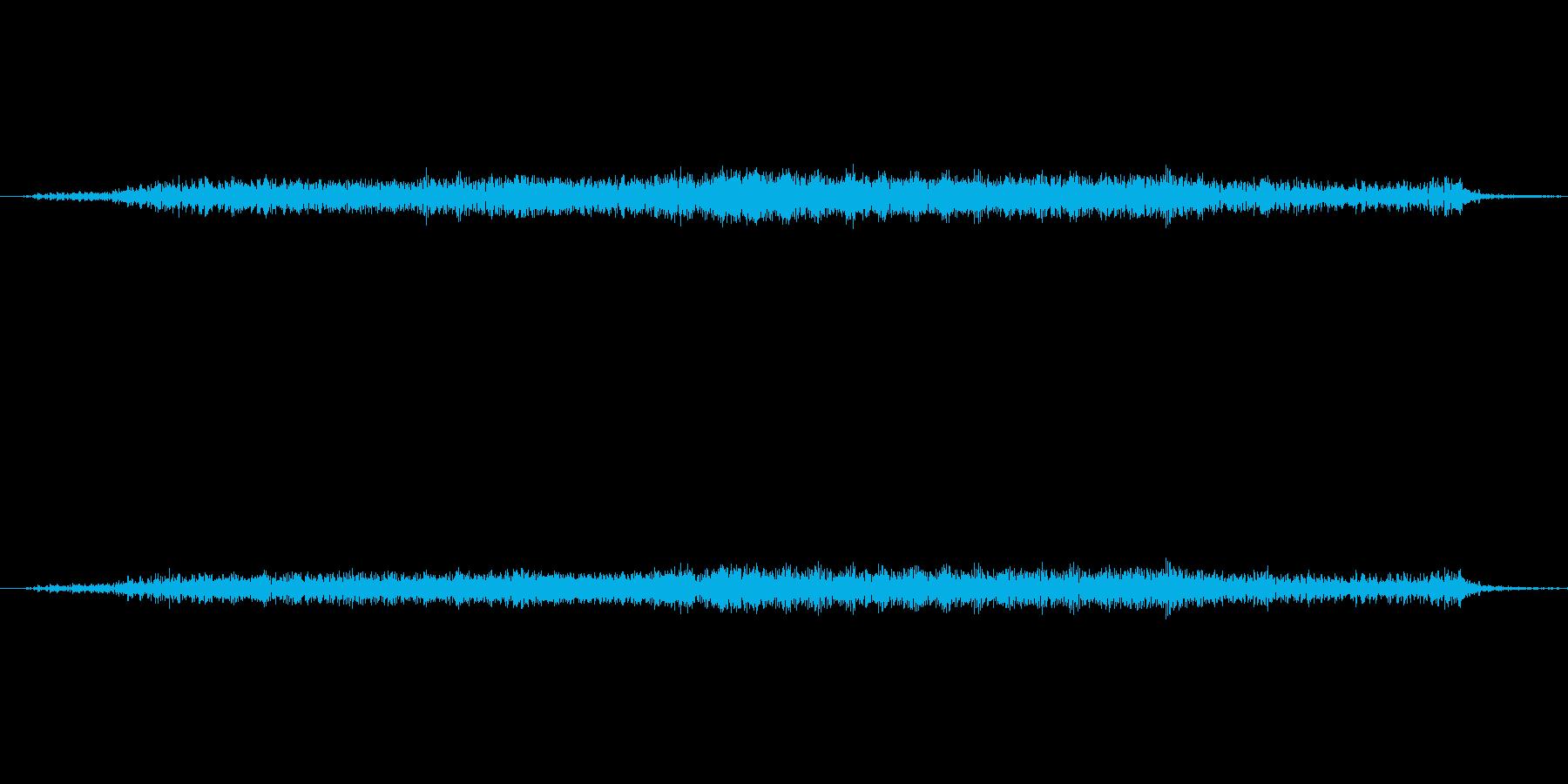 ウィーンッ…小さめの機械の駆動音2の再生済みの波形