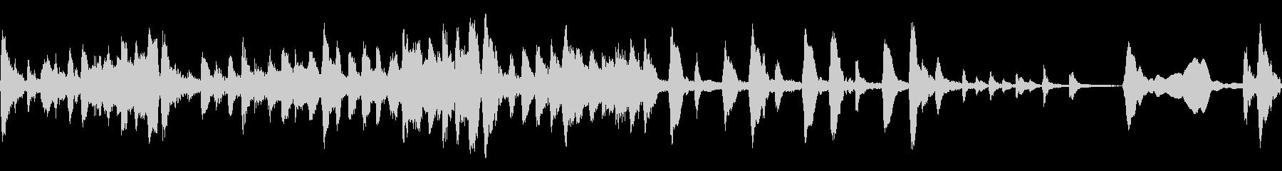 小編成ストリングスによる不気味なBGMの未再生の波形