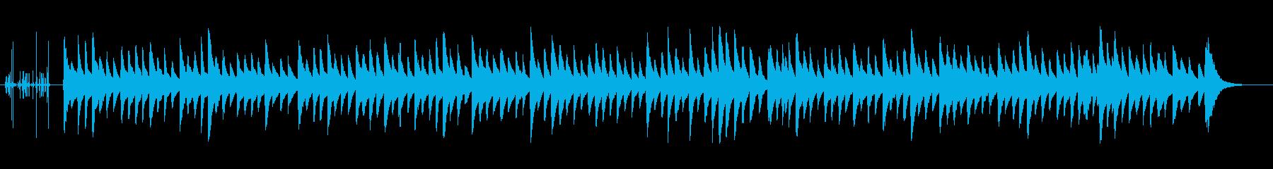 クラシック調の優しい子守唄(オルゴール)の再生済みの波形