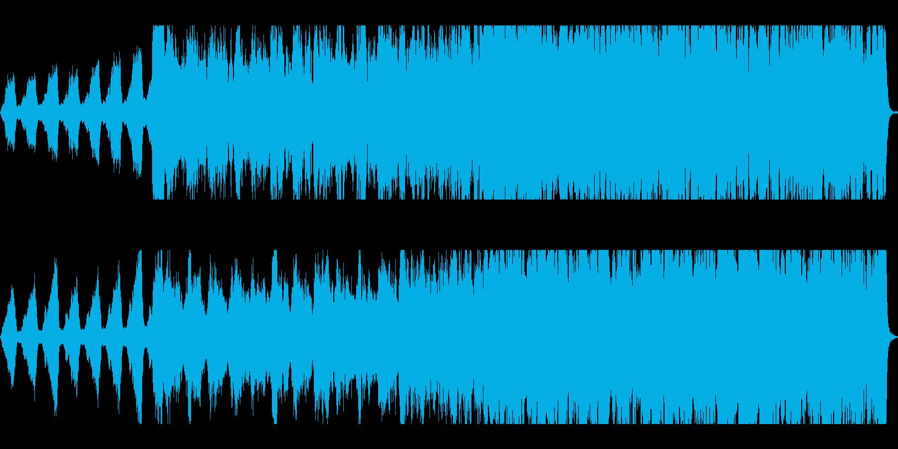 和風/大河ドラマ風暗く切ないオーケストラの再生済みの波形