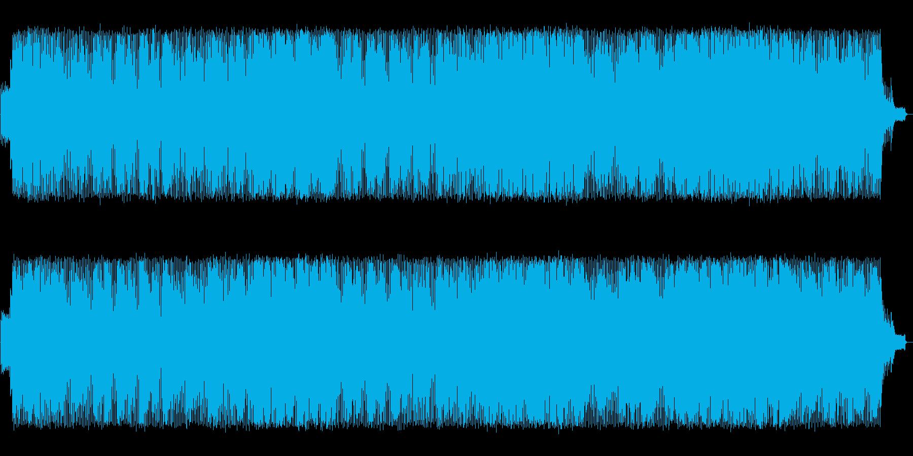 結婚式などで使えるキラキラポップソングの再生済みの波形