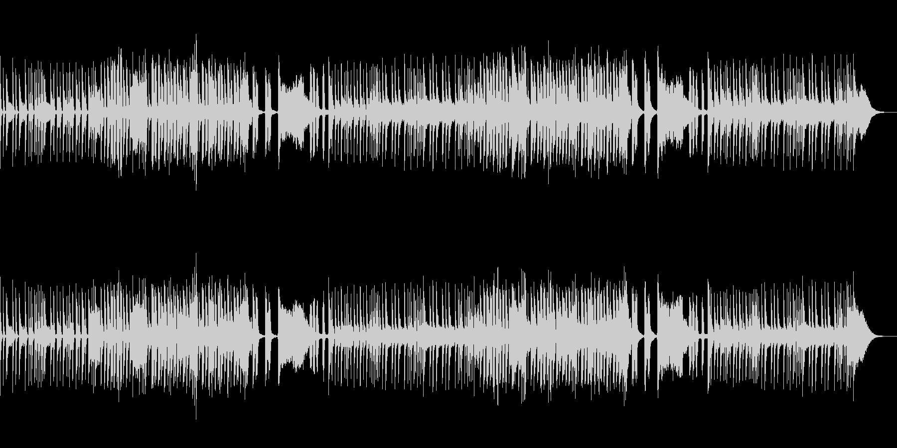 わくわくするマーチングバンド風ジングル2の未再生の波形