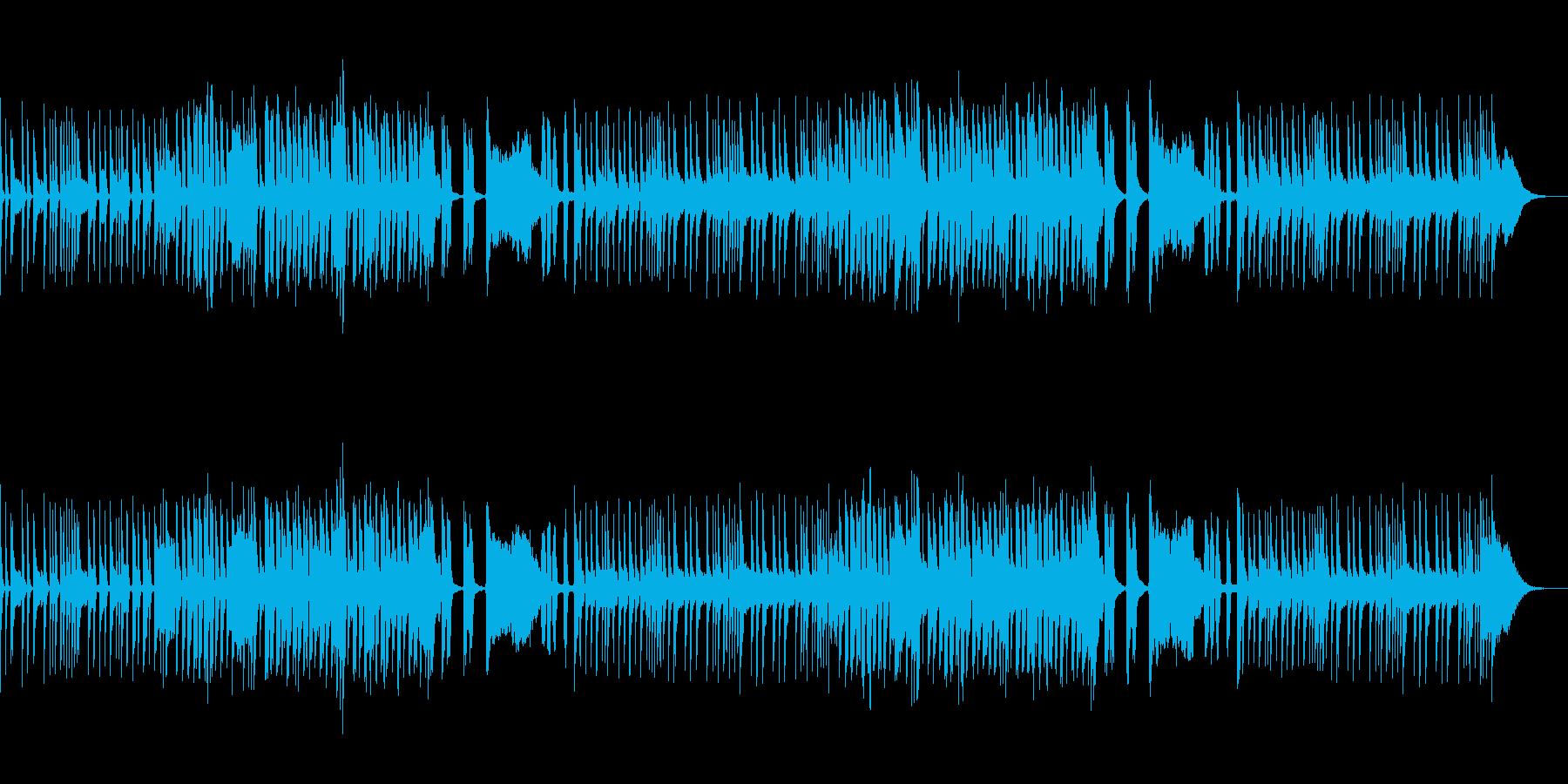 わくわくするマーチングバンド風ジングル2の再生済みの波形