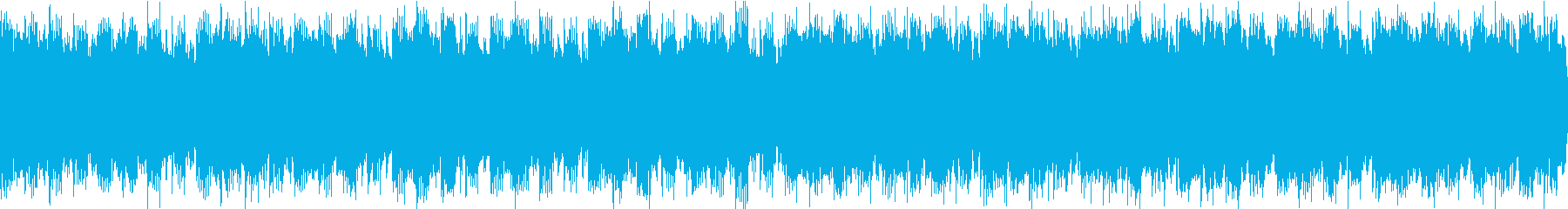 テクノ 近未来 ループの再生済みの波形