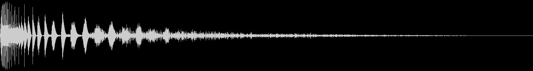 DTM Snare 7 オリジナル音源の未再生の波形