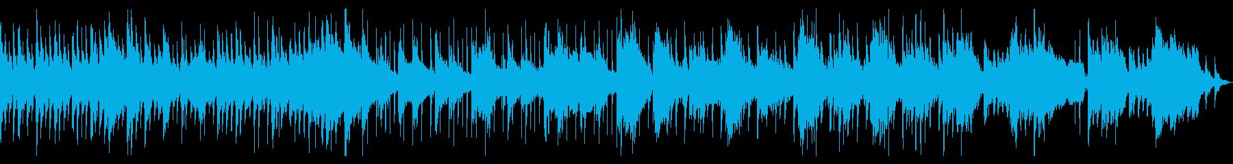 童謡「うさぎ」のゆったりポップなアレンジの再生済みの波形