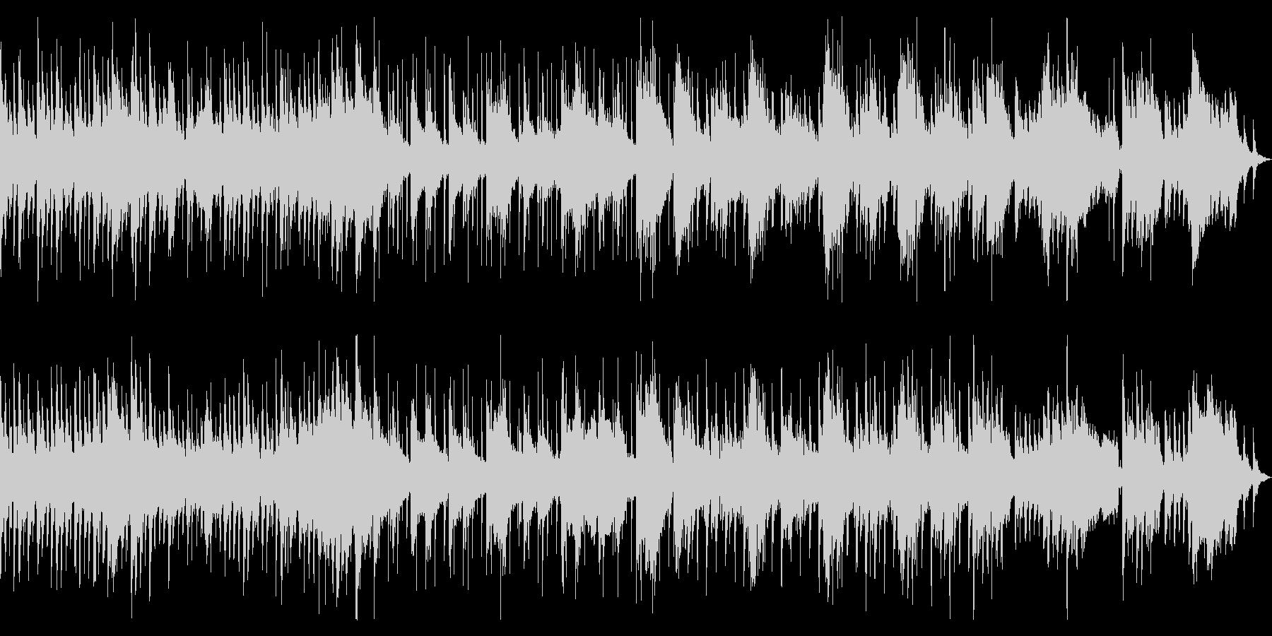 童謡「うさぎ」のゆったりポップなアレンジの未再生の波形