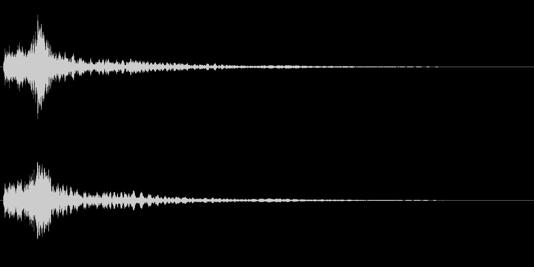サスペンスに最適!ピアノの弦を弄ぶ音49の未再生の波形