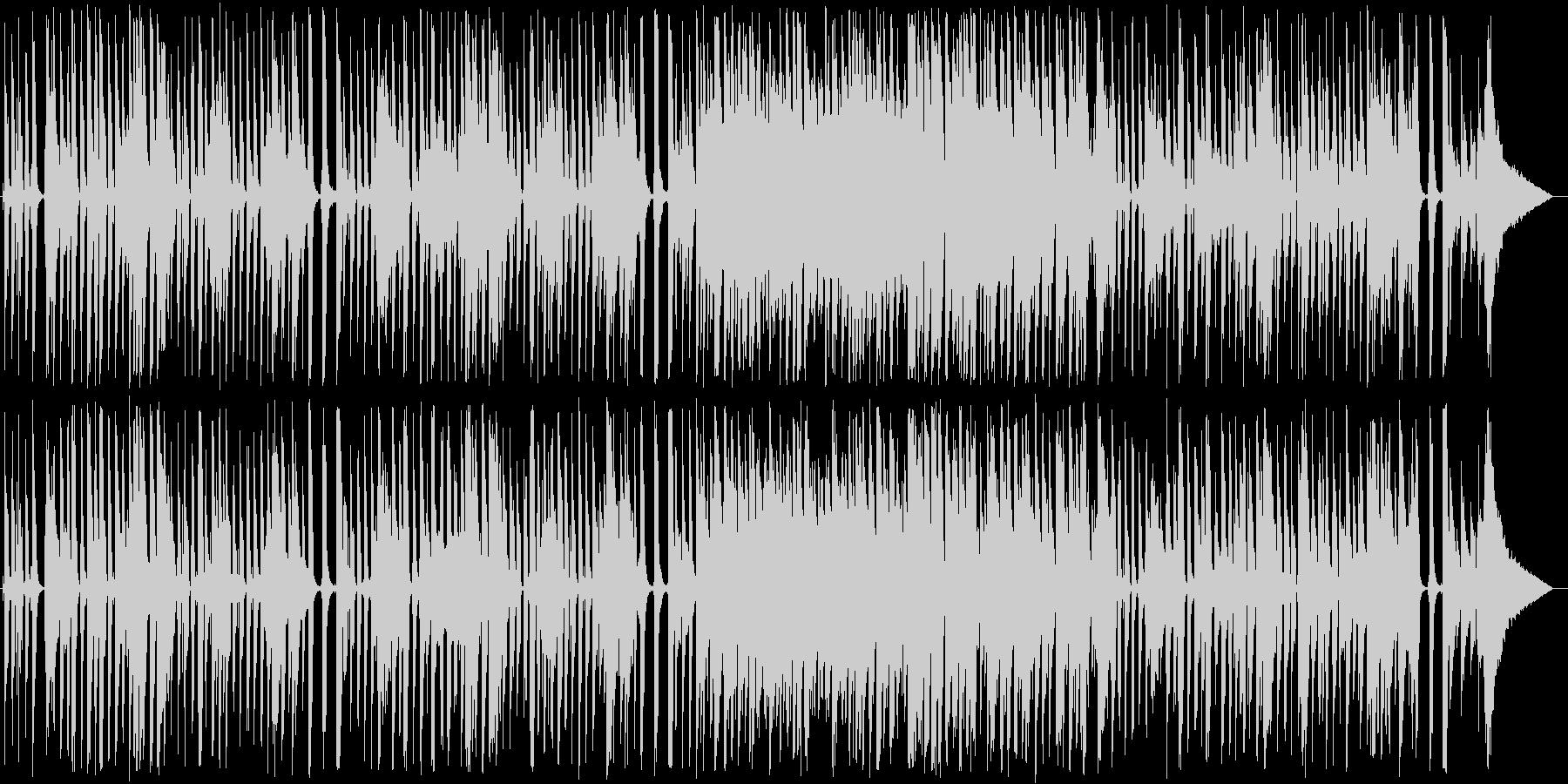 スイングジャズ風ガットギターポップスの未再生の波形