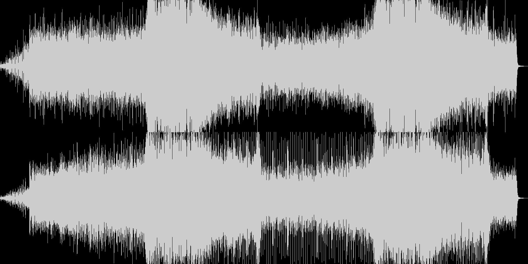 電子音にストリングスを載せた、戦闘シー…の未再生の波形