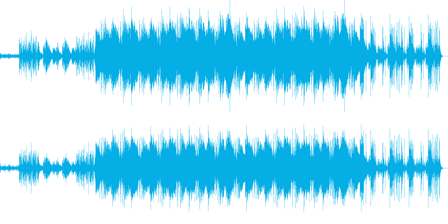 躍動感あるピアノが印象的なポップな曲ですの再生済みの波形
