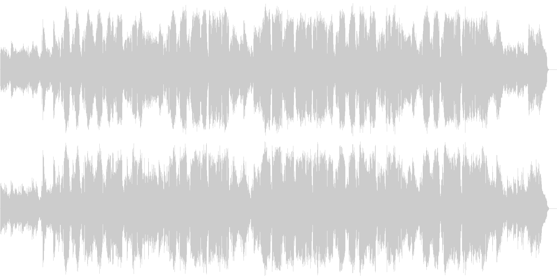 京都の帯製作者の作品を見てその印象を曲…の未再生の波形