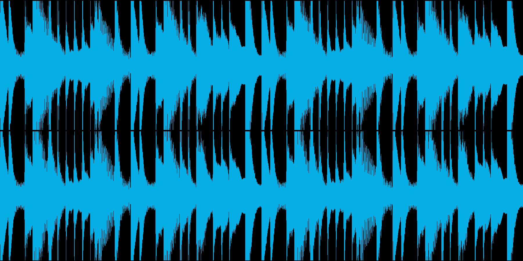 ほのぼのした日常BGMの再生済みの波形