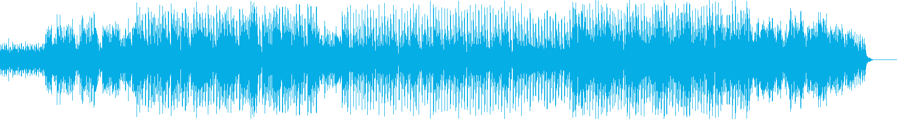 電子音、ゲームBGMっぽい曲。の再生済みの波形