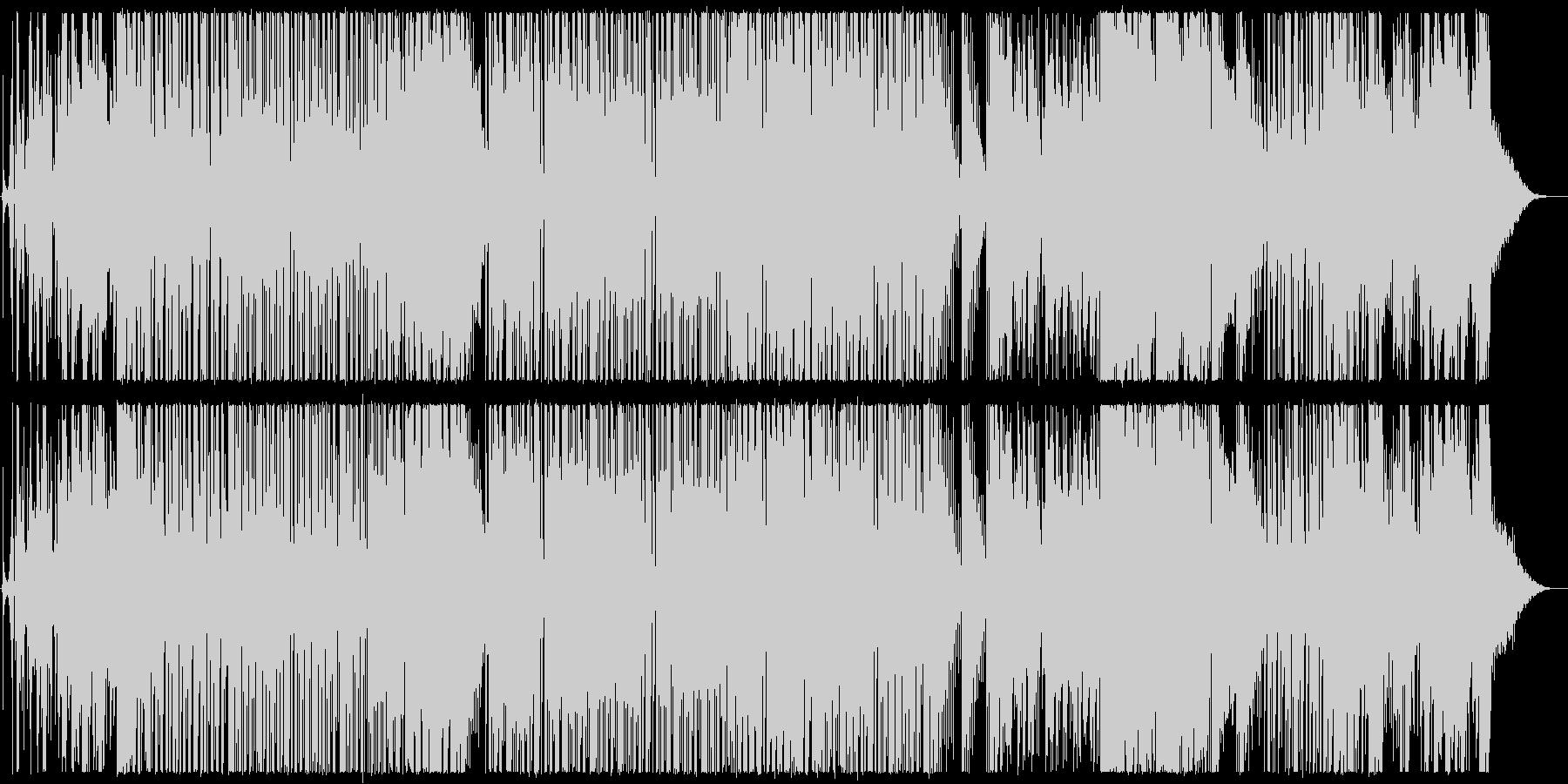 無機質な民族音楽調楽曲【生楽器あり】の未再生の波形