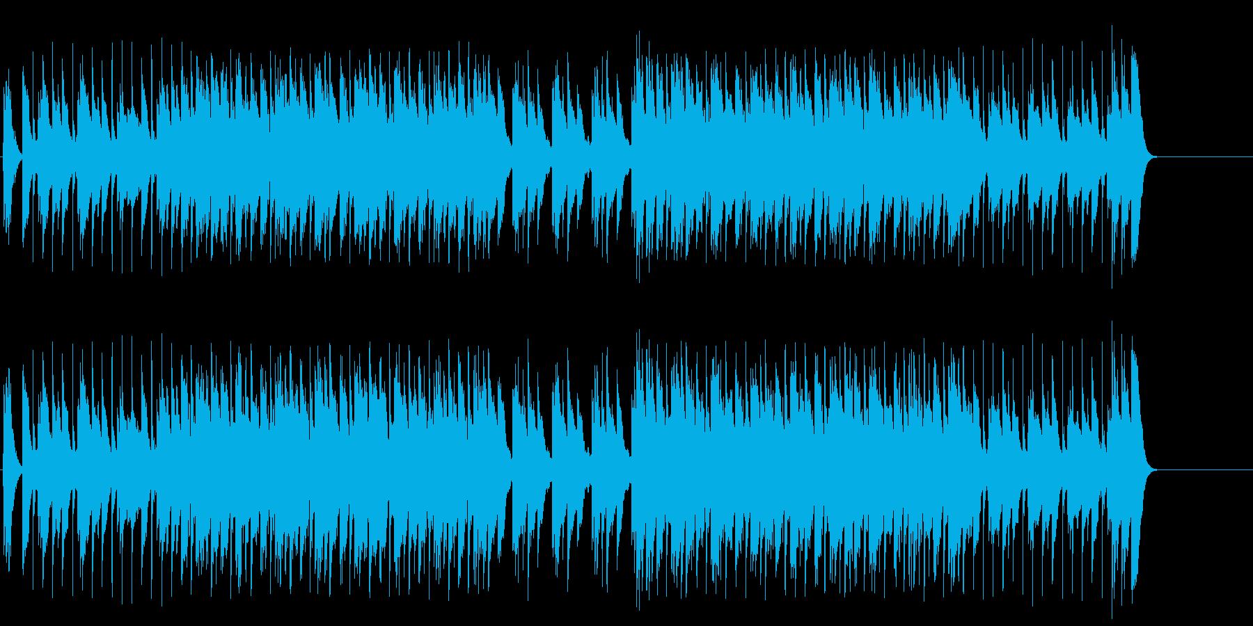 重厚でコミカルなCM風テクノポップの再生済みの波形